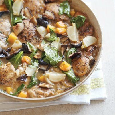 Braised Chicken with Squash, Turnips & Mushrooms - Jan Tilley ...