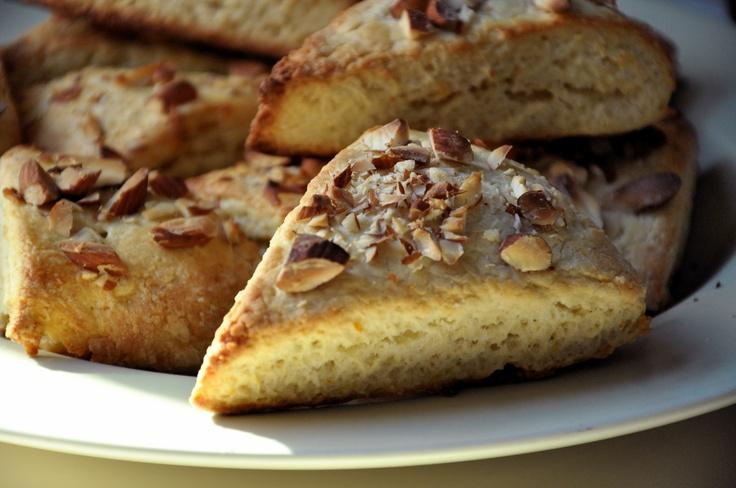 Almond Tea Scones