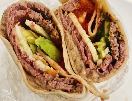 Southwest Beef Wraps