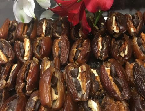 Chocolate-Pecan Dates