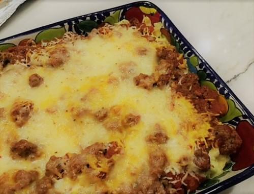 Mexican Noodle Casserole