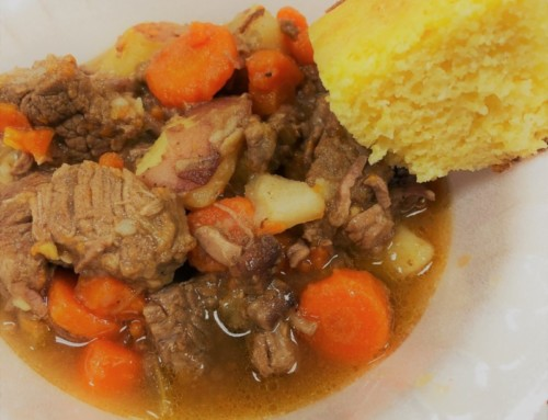 Beef Stew w/ Beer and Hatch Chiles