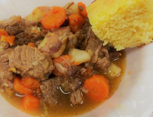 Beef Stew w/ Hatch Green Chiles