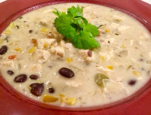 Mexican Corn Chicken Soup