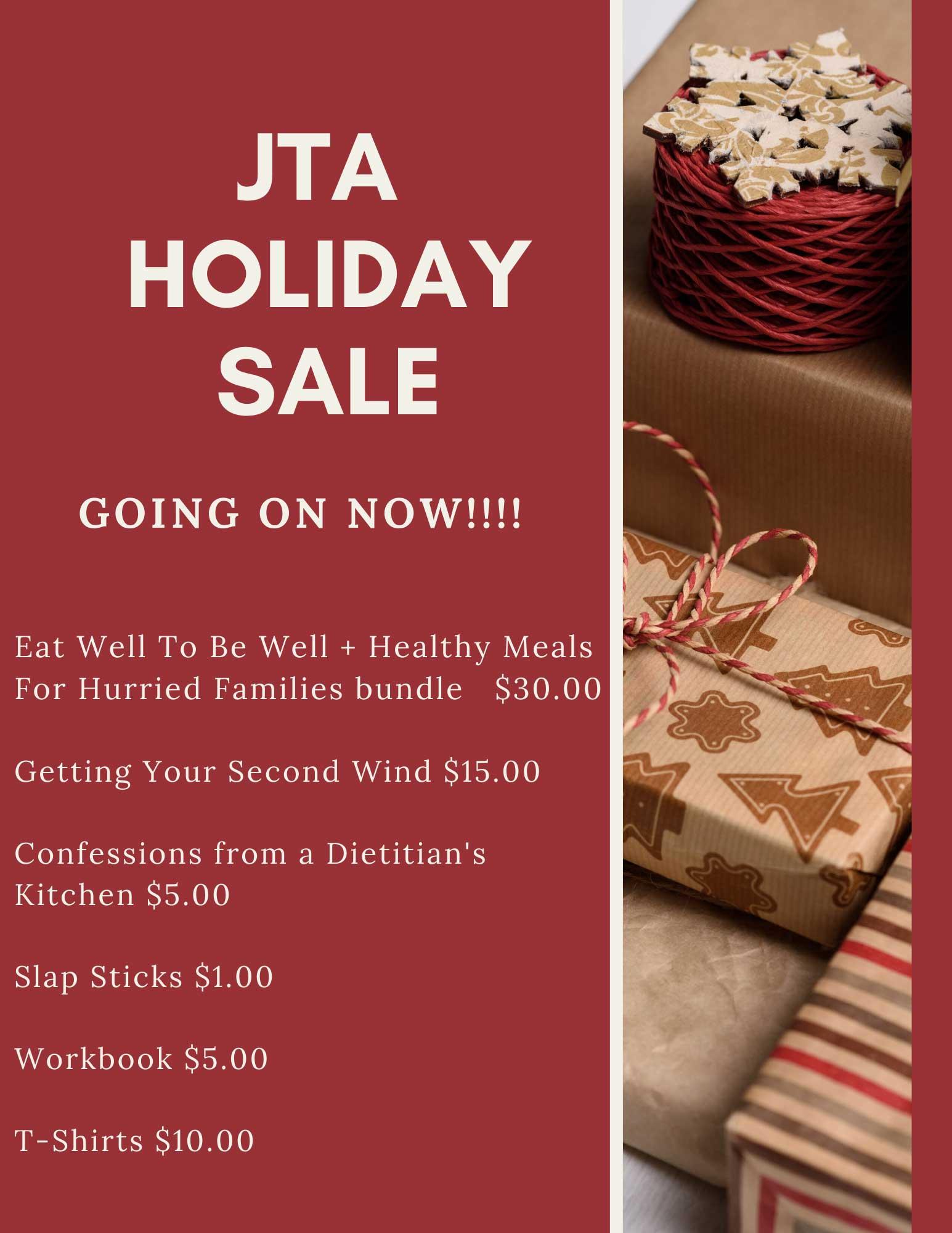 JTA Holiday Sale